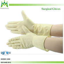 2016 new products Powder/powder free Latex Examination Medical Gloves Latex Surgical Examination Gloves
