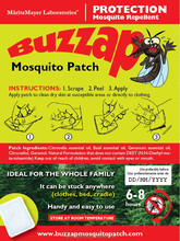 Ecalyptus Citronella ( Anti Mosquito ) NON - TOXIC NATURAL MOSQUITO PATCH
