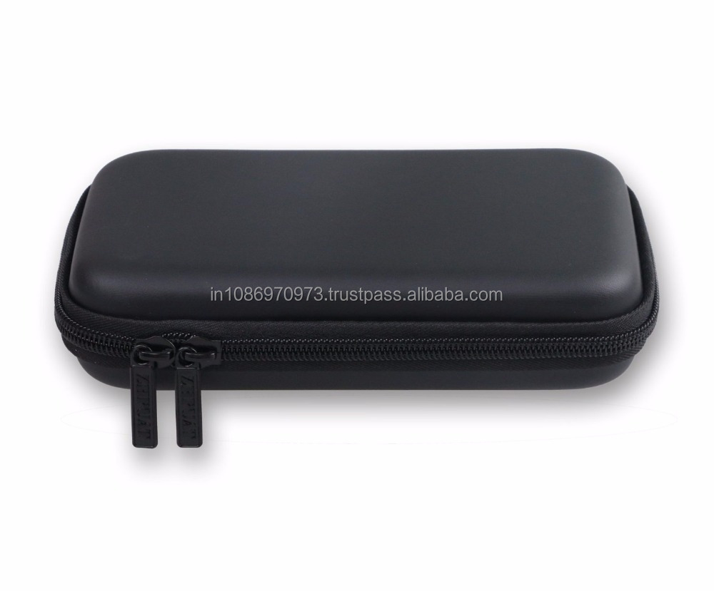 HDD Protective Carrying Case Cover for External USB Hard Disk / Drives - Black