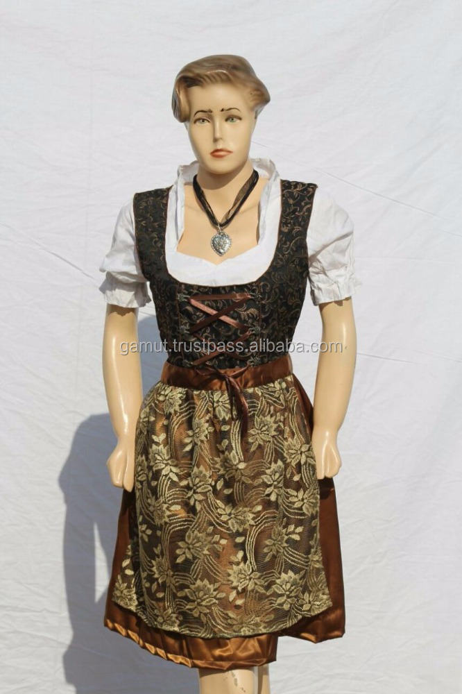 Oktoberfest Drindl Dress Trachten Dress Ladies Frock