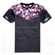 Custom Sublimation t shirt/3d printing t shirt /all over printed