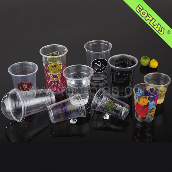 Disposable Best Selling Custom Design Food Grade Transparent Plastic Cup