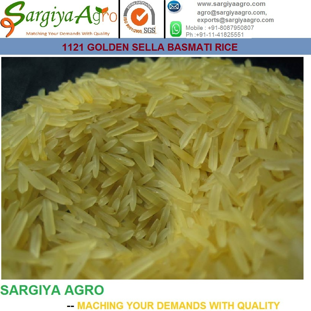 Indian Long Grain Parboiled Rice with Best Specification