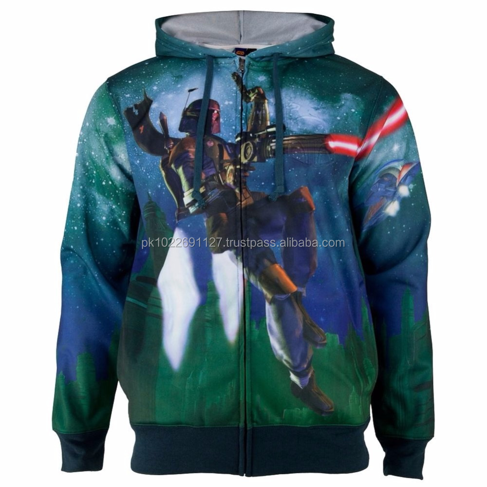 100% Polyester Zip Up Hoodies /Order From 50 Pieces Plain Zip Up Hoodies Custom Graphic