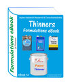Formulations eBooks on thinners manufacturing (ebook13)