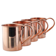custom made Copper Barrel steel Mug for Moscow Mule