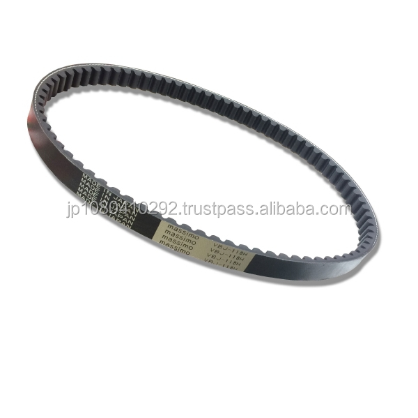 High quality Japanese motorcycle V belt rubber parts for various brands