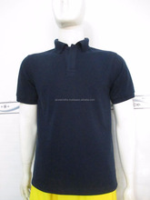 blank polo shirt navy blue pique 65/35 250gsm vietnam polo shirt