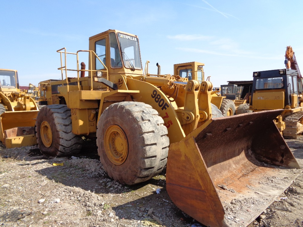 Used Caterpillar 980F Wheel Loader /Second-hand Cat Loader 988B 980C 980F 980G 98H
