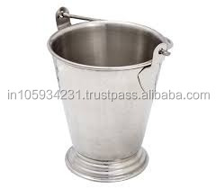Stainless Steel Joint Serving Bucket with Pail for Promotional Use