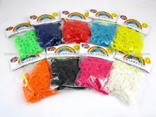 600 PCS LOOM BANDS Refill Rubber Rainbow Bracelet Making S Clips Twistz Bandz LARGEST SELECTION OF LOOM BANDS STYLES/DESIGNS
