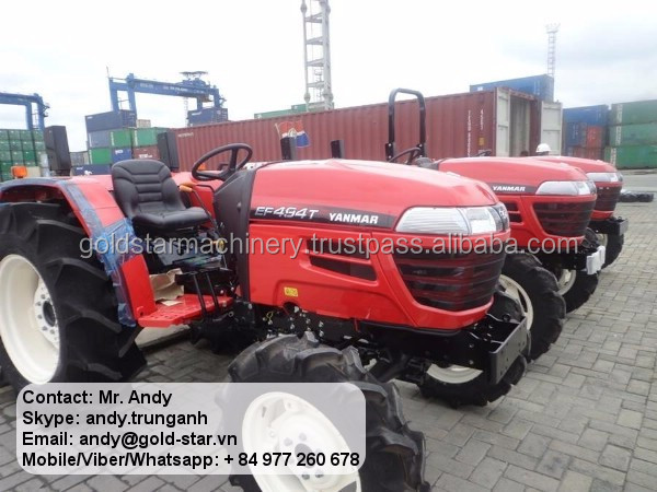 YANMAR SUPER STRONG TRACTOR FROM THAILAND 494T