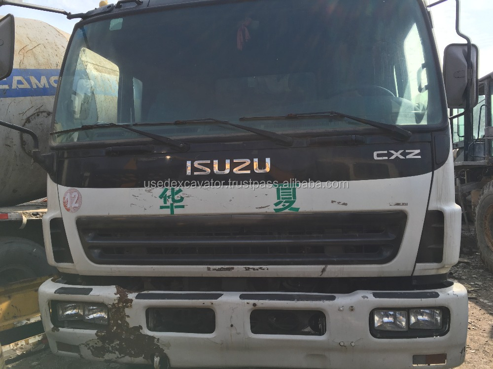 Good condition isuzu forward trucks dump used, with cheap price
