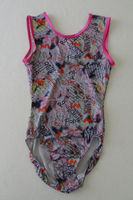 custom made designs leotards/ rainbow sublimation printing leotards