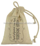 Silver Organza Jewelry Gift Pouch Bags with Ribbon