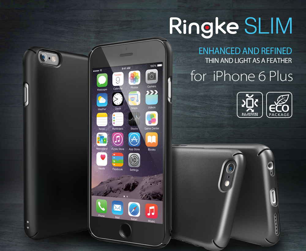 [Ringke[ Ringke Slim Smartphone Case for IPhone 6 Plus