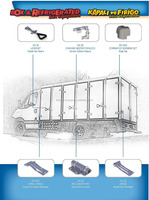 Hinge, Side Door Lock Refrigerated Truck Body Parts, Truck Accessories Turkish Manufacturer