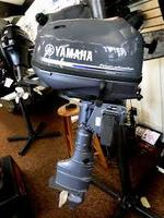 Used Yamaha 6HP Four Stroke outboard Motor Engine