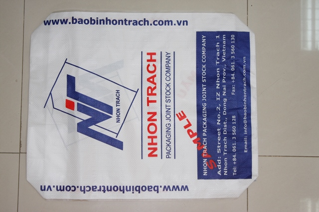 40kg 50kg cement bag price laminated PP woven cement bag AD STAR bag with high quanlity have valve