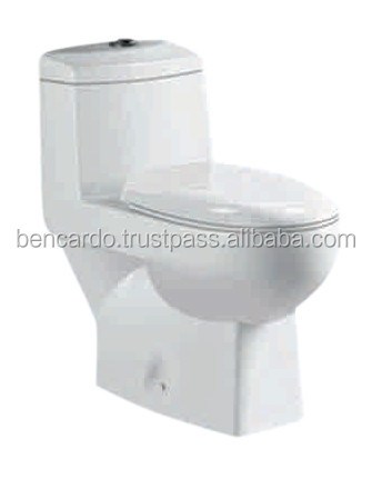 One Piece Toilet - S-Trap 300MM - Siphonic One Piece closet - A-501- Vintage - Bencardo - Toilet