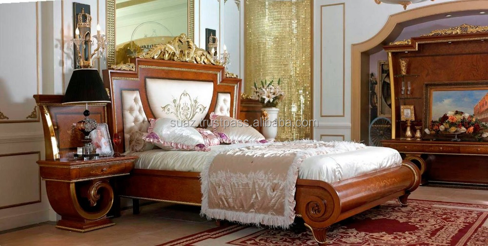 Hand Carving Wooden Furniture , wood carved sleeping bed , solid Hand carved furniture wooden bed design in Karachi ,