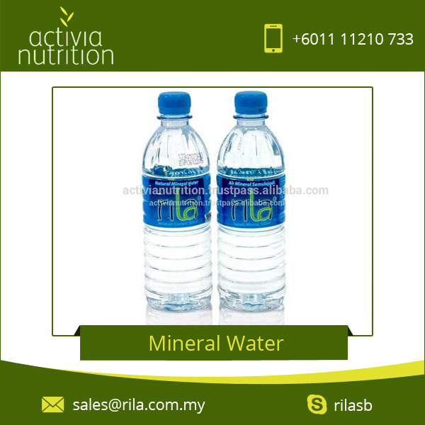Safe Mineral Rich Packaged Drinking Water in Plastic Bottle