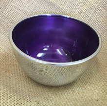 Aluminum Enamel Finished Indian Deep Bowl