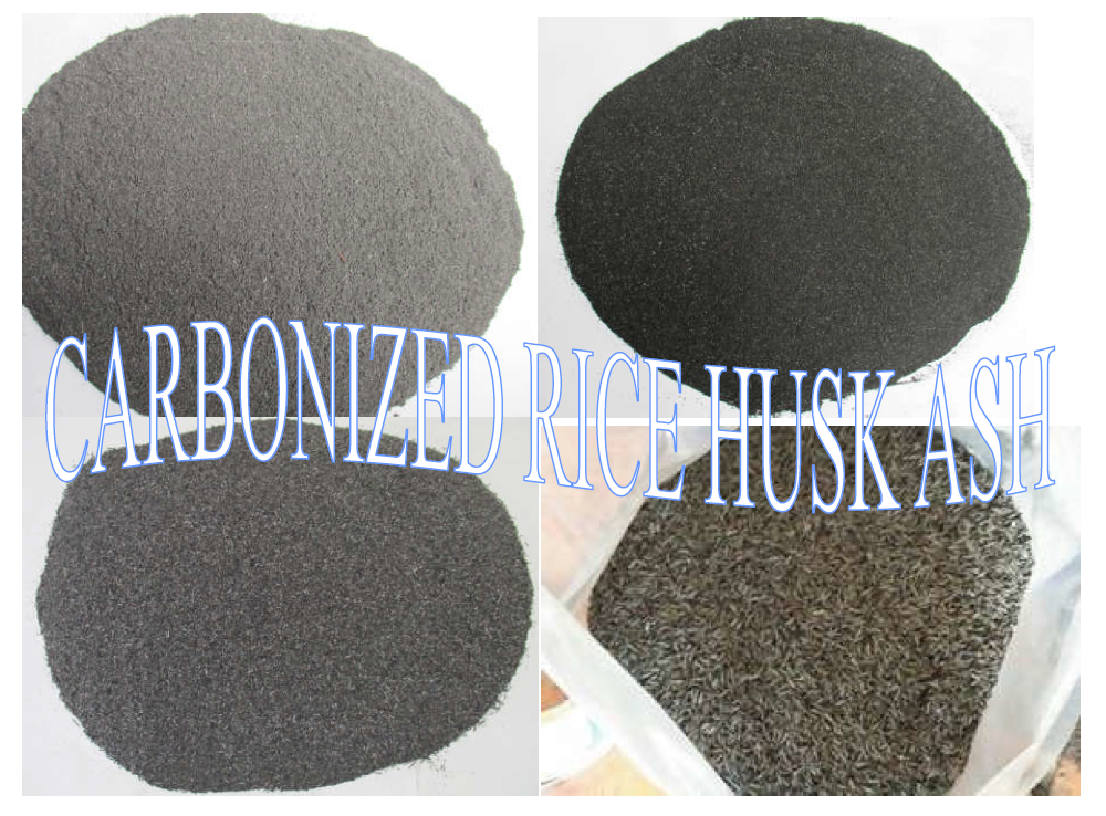 Carbonized Rice Husk Ash/ Rice Husk Ash Silica/ Rice husk ash production