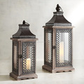 Material Wood Lantern For Decoration | Antique Wooden Lantern