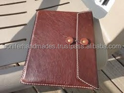 custom made leather covers for tablets with logo embossing and printing