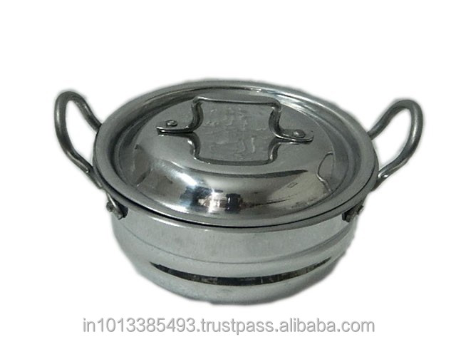 Aluminum light weight Kadhai/UAE aluminum utensils size 6/Aluminum light gauge cookware