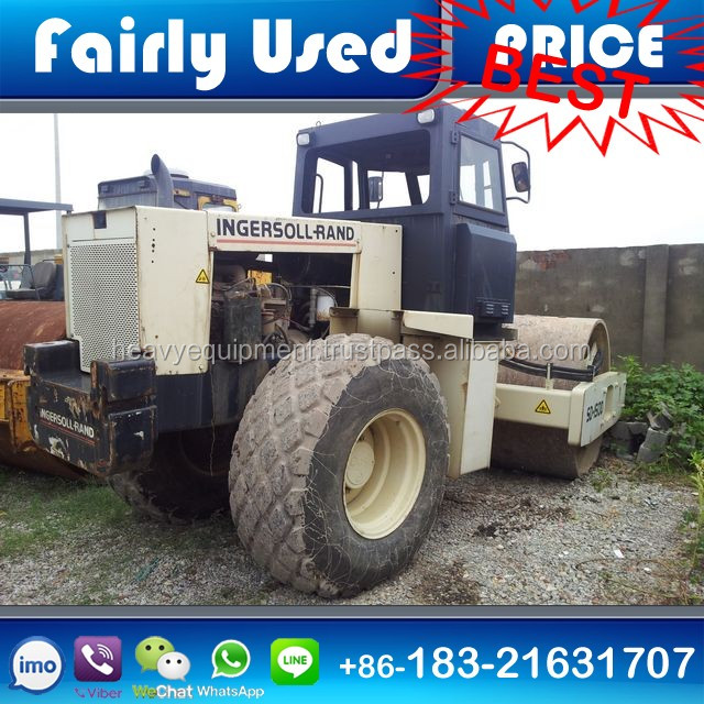 Used INGERSOLL-RAND COMPACTOR SD150D Road ROLLER