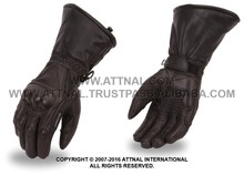 Men's/Women's Gloves with Carbon Fiber Knuckles, built-in Index Finger Squeegee, with Draw String Cuff Seale