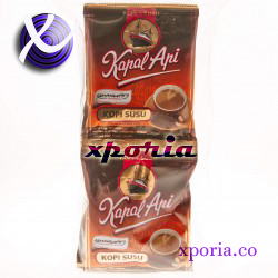 KAPAL API Coffee Powder MILK 10x31gr | Indonesia Origin | Cheap popular instant coffee with strong non acidic flavour