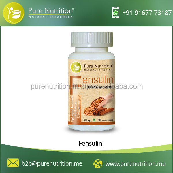 Pure Natural Healthy Fensulin to Balance Cholesterol