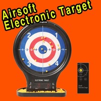 Airsoft target with Electronic & Sticky function