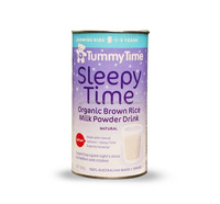 Tummy Time Sleepy Time Organic Brown Rice Milk Powder Drink with Lactium