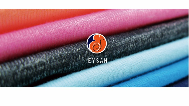 EYSAN 100%Polyester Light weight Transparent Mesh Jersey Fabric