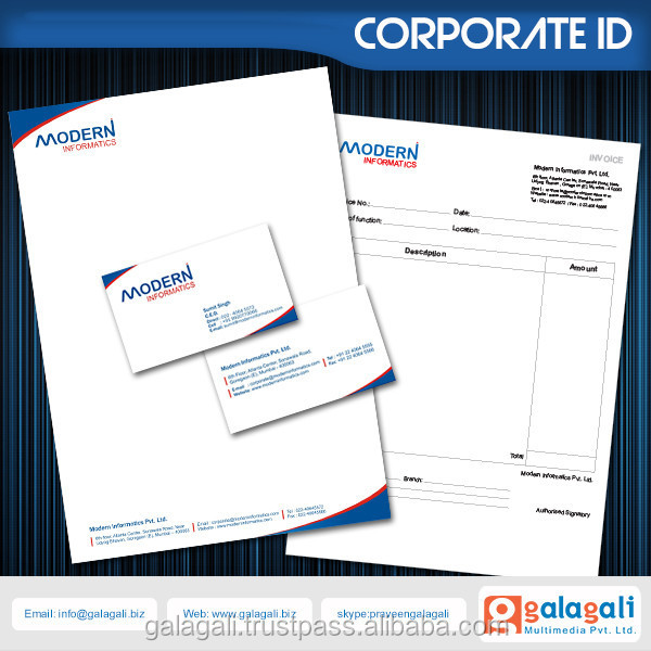 New Design Corporate identity , Logo and Catalogue Services