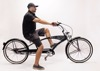 "Micano Bronx Long - Chopper Cruiser Beach Bike 26"" High Quality American Style - Black"