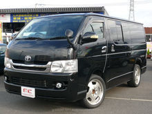 Right hand drive and Reasonable used vans toyota HIACE super GL 2009 used car