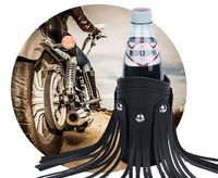 Leather Motorcycle - Bike, Accessories, Drink, Cup, Can, Bottle - Holder