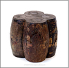 Rustic wood stool , Antique furniture stool