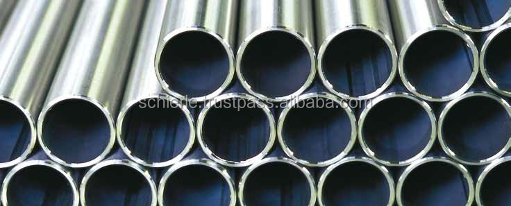 Welded cylinder tubes (HPI) made of stainless steel