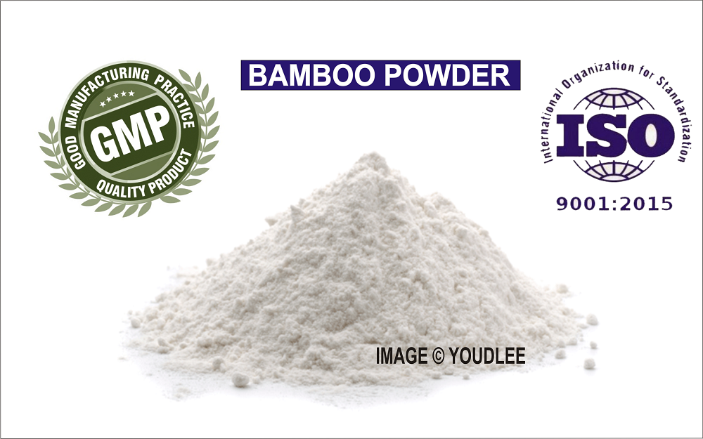 Bamboo Extract Powder, 70% Organic Silica, For Skin, Hair & Nails Health