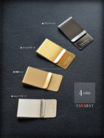 CYBERL's Original Money Clip for RFID Blocking Wallet Made in Japan 4 Colors