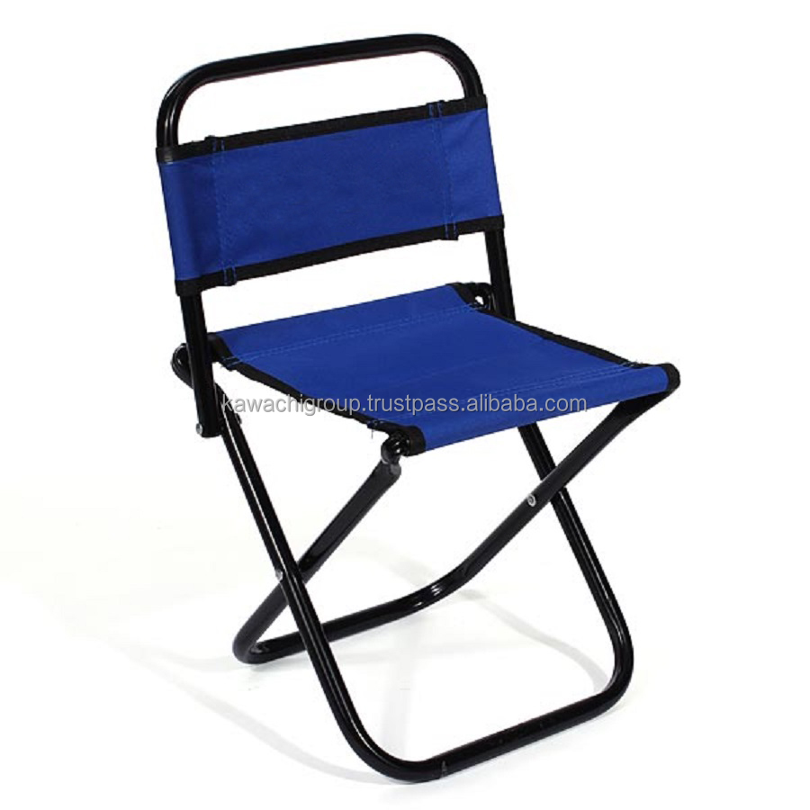 Kawachi Portable Folding Outdoor Fishing Camping Chair Oxford Cloth Chair with Backrest Carry Bag