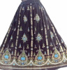 Sequins Embriodery/Peasant//Boho//Hippie long Indian Gypsy Belly dance Boho Skirt