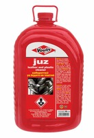 Cleaner for leathers and plastics,juz