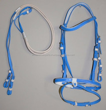 PVC Horse bridle and reins